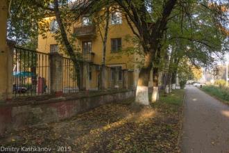 Старые дворики. Фото проспекта Молодежного
