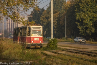 Трамвай 417. Фото проспекта Молодежного