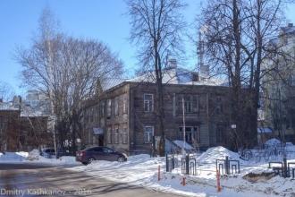 Дом причта. Улица Славянская. Нижний Новгород. Фото