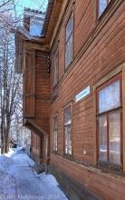 Улица Славянская, д. 3. Старые деревянные дома Нижнего Новгорода. Фото