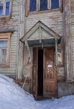 Дом причта. Подъезд. Улица Славянская. Нижний Новгород. Фото