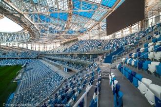 Трибуны стадиона Нижний Новгород