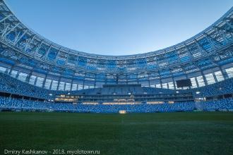 Строительство стадиона на Стрелке