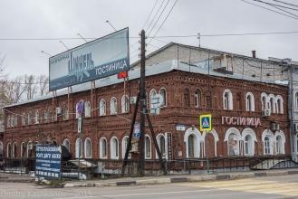 Гостиница Шинель. Нижний Новгород. Стрелка 4