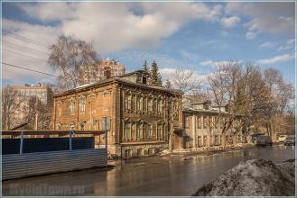 Улица Горького. Нижний Новгород. Фото старых домов