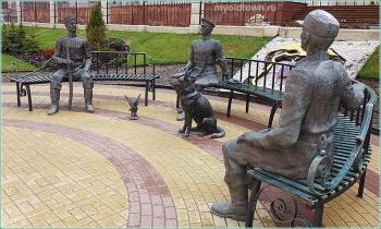 В Нижнем Новгороде украли статую голубя. Фото