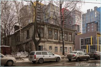 Малая Ямская улица. Нижний Новгород. Фото старых домов