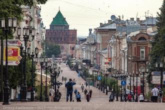 Большая Покровская. Фото от кинотеатра Орленок