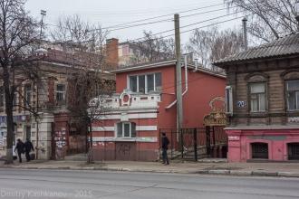 Большая Покровка, 68а. Усадьба Серебренниковой. Нижний Новгород. Фото 2015 года