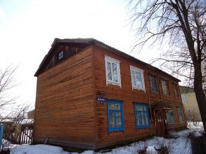 Улица Трудовая, д. 6. Поселок Неклюдово. Борский район Нижегородской области