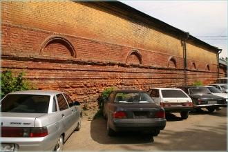 Кожевенная улица. Древние стены. Фото Нижнего Новгорода