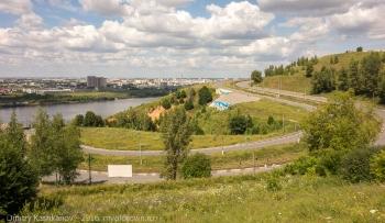 Фотография фрагмента Окского съезда. Нижний Новгород