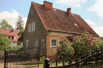 Правдинск. Старые немецкие дома на улице Комсомольской