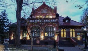 Зеленоградск. Краеведческий музей на улице Ленина