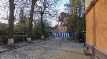 Старые улочки Зеленоградскка. Осень