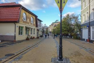 Зеленоградск. Курортный проспект