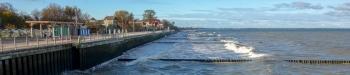 Зеленоградск. Променад. Берег Балтийского моря