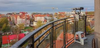 Смотровая площадка на вершине водонапорной башни. Зеленоградск