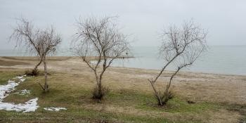Зимнее фото Азовского моря. Ейск