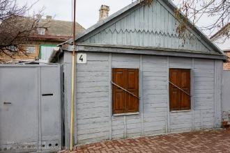 Ейск. Старый домик по ул. Ленина