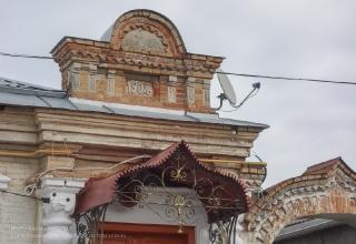 Ейск. Фрагмент фасада дома 1902 года постройки