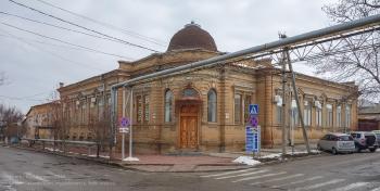Ейск. Перекресток улиц Ленина и Бердянской