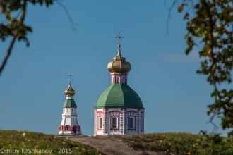 Суздальский Кремль. Храм на улице Пушкарской