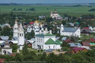 Суздаль. Фото Покровского монастыря
