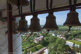 Колокола над Суздалем. Фото
