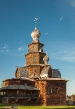 Красивое фото Преображенской церкви. Суздаль