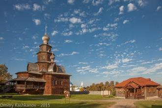 Преображенская церковь. Музей деревянного зодчества. Суздаль