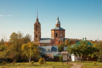 Суздаль. Борисоглебская церковь. Фото
