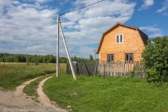 Деревня Шаньково. Дом на краю деревни