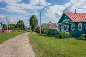 Дома в деревне Шаньково. Фото