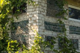 Дом из стеклянных бутылок. Поселение Копылиха