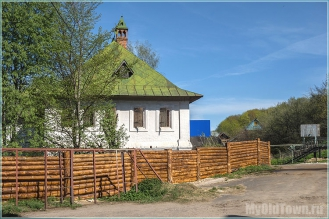 Дом-музей Ершова. Фото с улицы Советской