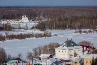 Фото Гороховца. Дом Канонникова и Знаменский женский монастырь