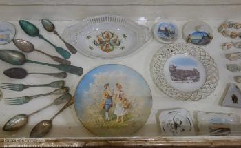 Какие раньше были тарелки, вилки и ложки
