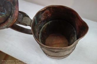 Старинная пивная кружка XVII века