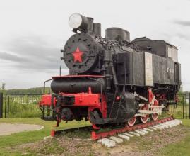 Паровоз 9П-18430. Фото из музея паровозов