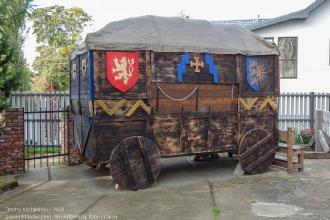 Вагенбург. Боевая повозка рыцарей Тевтонского ордена. XIV век. Реконструкция