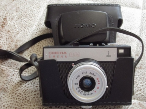Фотоаппарат Смена 8М с футляром. Фото