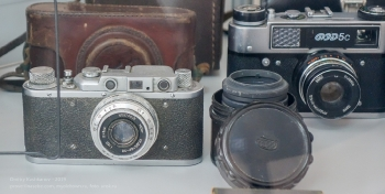 Старые советские фотоаппараты ФЭД
