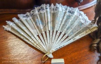 Старинный дамский веер. Иркутский музей декабристов