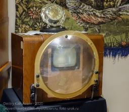 Телевизор КВН-49 с линзой