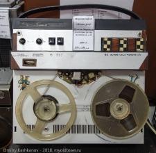 Катушечный магнитофон Нота-304. 1980 год